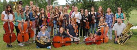 Orkesterkurs för unga 2018